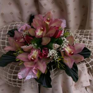 5 fej orchideás csokor