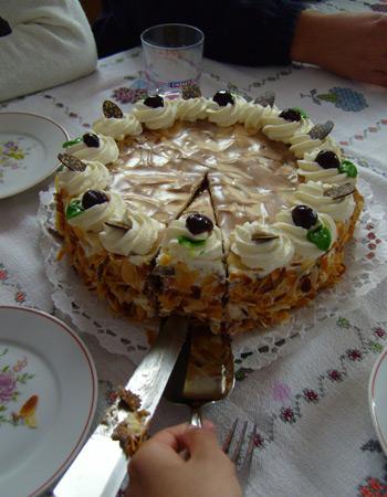 Az 2008-as év tortája: Szatmári szilva