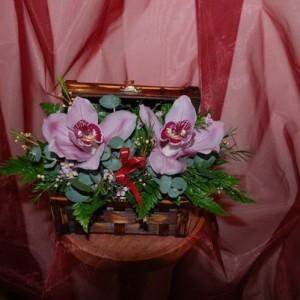 Orchideák dobozkában