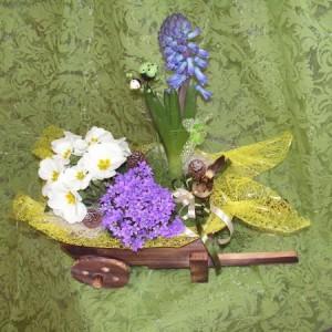 Vegyes tavaszi összepárosítás lila-fehér