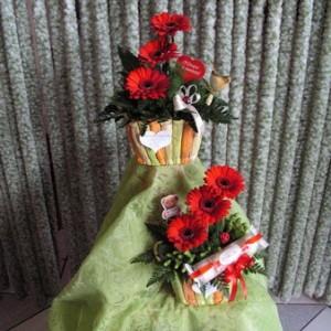 Vörös gerberák nőnapra