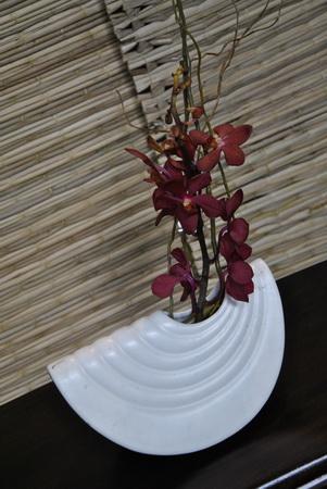 kompozíció orchideával